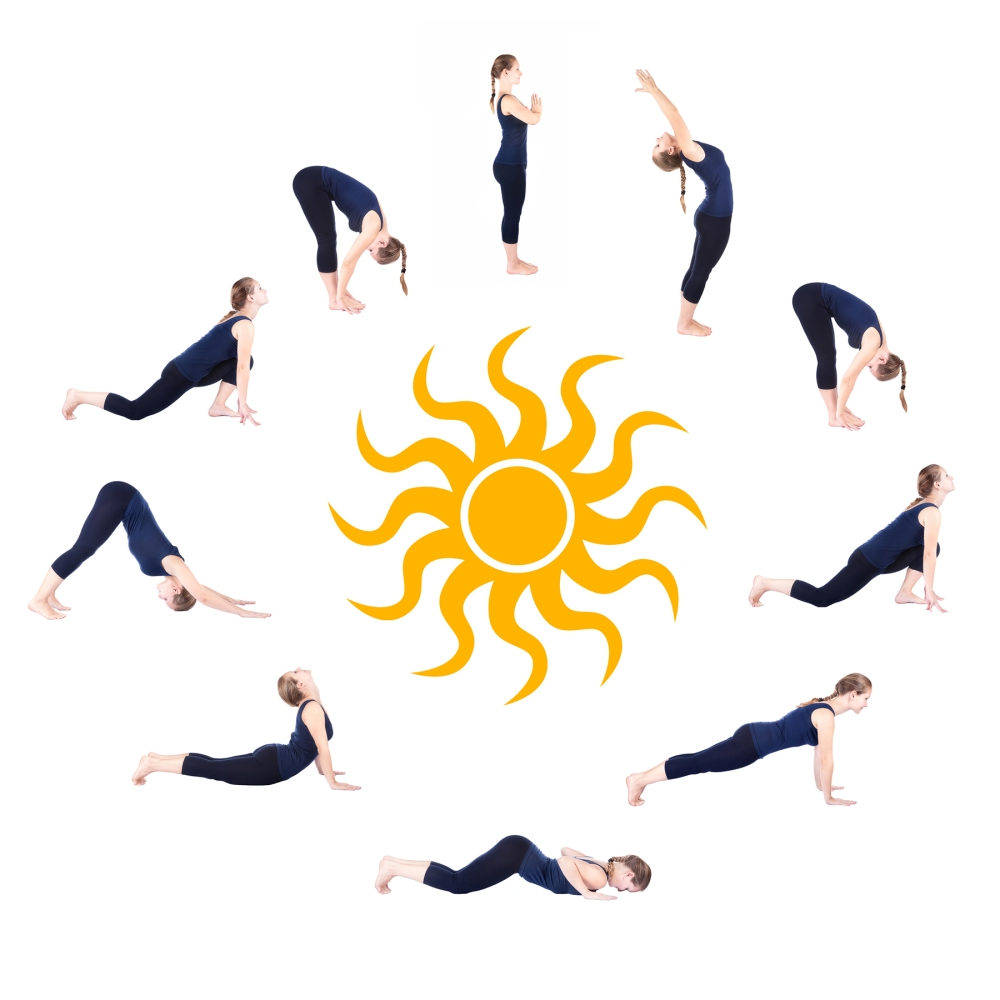108 Sun Salutations Yoga Mala
