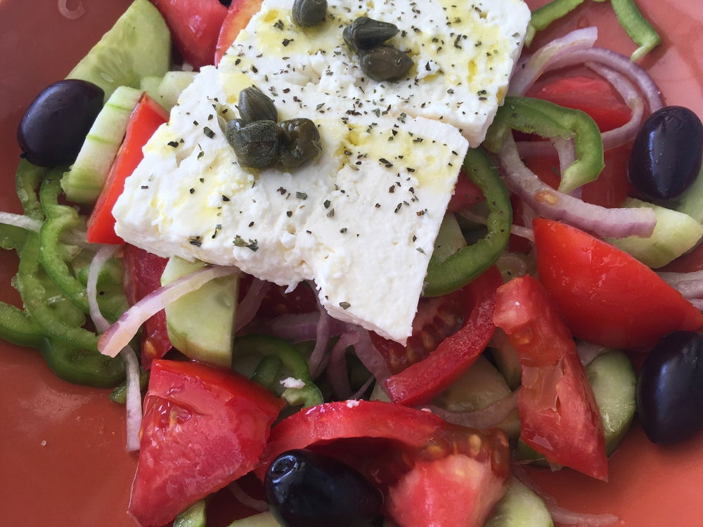 Greek salad Vassiliki